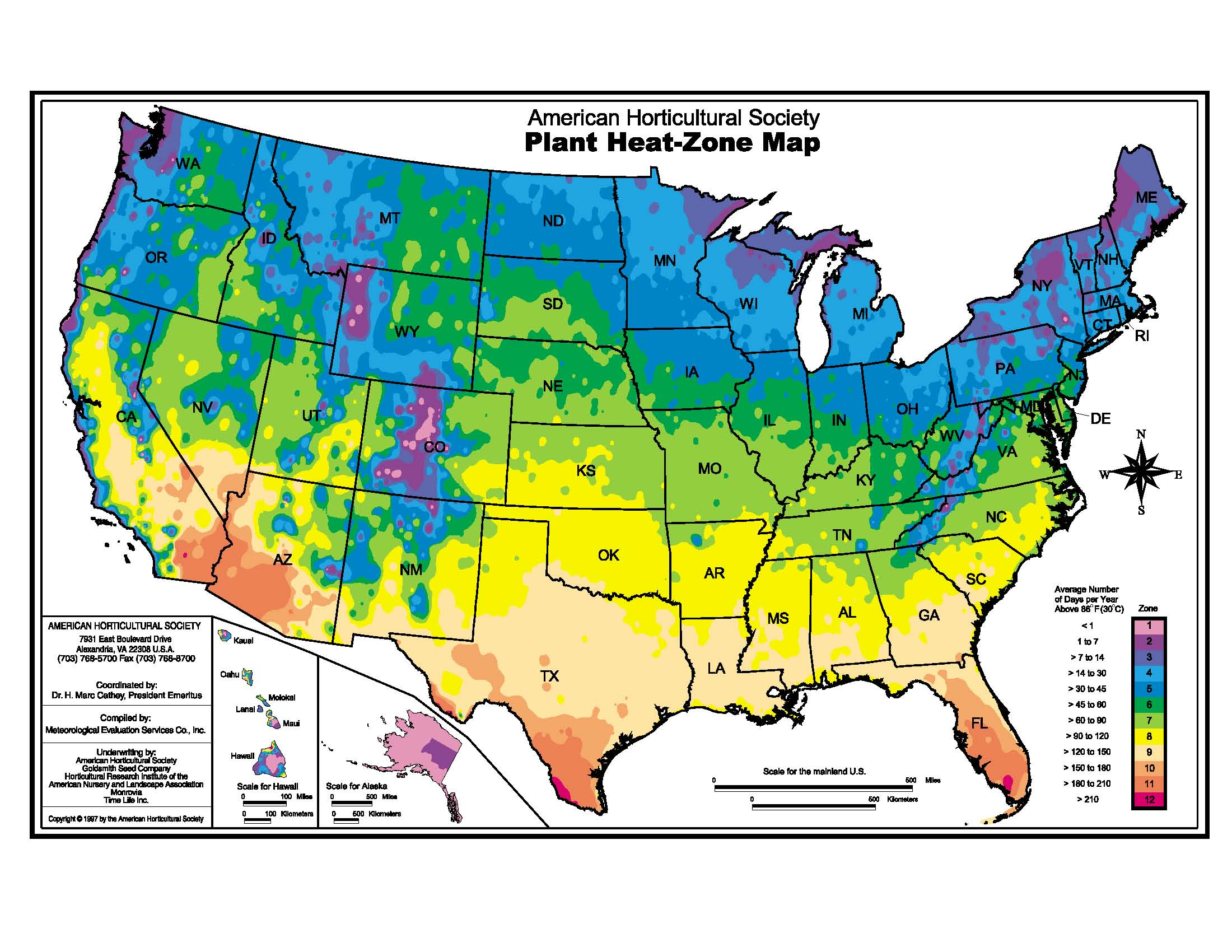 USDA Hardiness Zones Map Sunset Climate Zones And Other Zone Maps - Us weather zones map